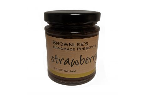 Brownlees Co. Armagh Preserves Strawberry Jam 227g