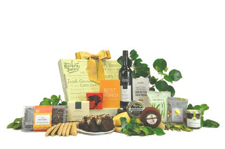 Irish Cheese & Wine Gift
