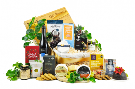 Irish Cheese and Wine Christmas Hamper