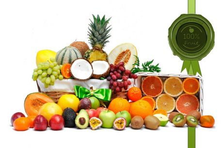 Extra Fruity Gift Basket