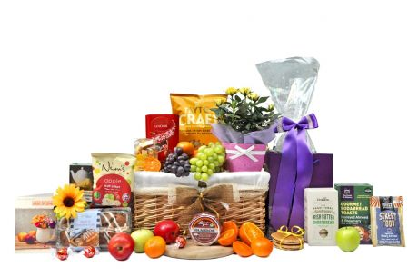 Flowers To Say Gift Basket