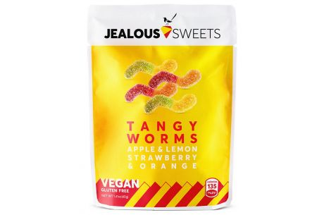 Jealous Vegan Sweets 'Tangy Worms' 125g