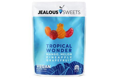 Jealous Vegan Sweets 'Tropical Wonder' Sugar Free Sweets 40g