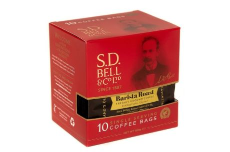 SD Bells Barista Roast Coffee Bags