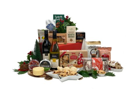 Snowy Christmas Afternoon Duo Gift Basket