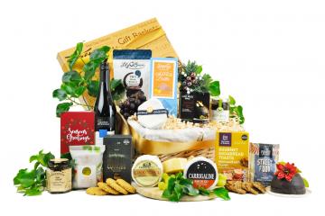 Irish Cheese and Wine Christmas Hamper